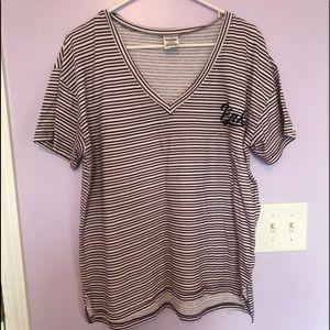 V-Neck PINK T Shirt